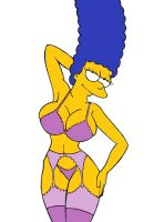 Marge lingerie by Basicdraw