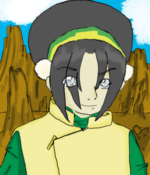 Earthbender Toph by ForeverAvatarded