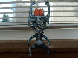 Midna Papercraft 1 by randomzeldafan