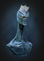 AlienBust by vermouth3D
