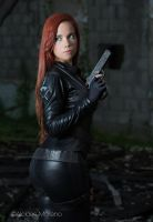NATASHA ROMANOVA the BLACK WIDOW by Windelle