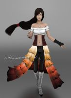 Tifa Lockhart - Autumn Concept by NightysWolf