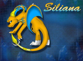 Siliana the dragoness by Fire-Flame-Fan