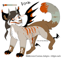 Msbutters demon commision by Jahpan