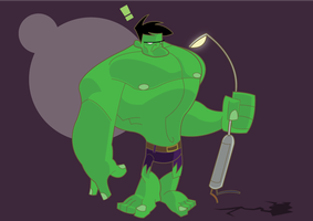HULK....SMASH by spiers84