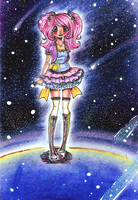 Candy in Space by Chancetodraw