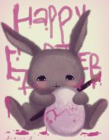happy Easter by sabocchia