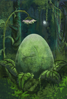 Mysterious egg has been found! by snaku6763