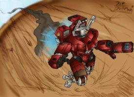 XV8 on the move by Jolleboi