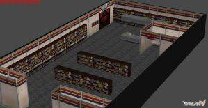Duke Nukem 3D Porn Shop by Wesker500