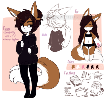 .: Fursona l Reference :. by Umereii