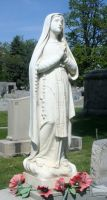 Mount Olivet Cemetery Mary 32 by Falln-Stock