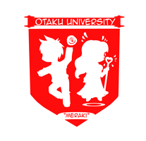 Otaku University Logo by CrazyBrainz