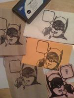 Batman Phone Stamp by beefteriyaki