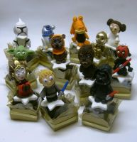 Star wars truffles by anafuji