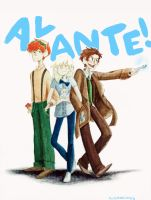 Avante! by thedodobirdsong