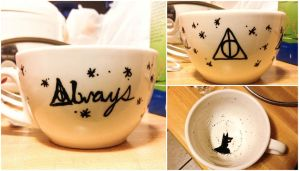 Deathly Hallows Mug by roxypotter13