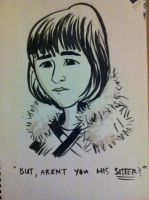 Bran Stark Caricature by j0epep