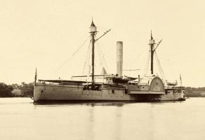 USS Mendota James River Viginia c1865 copy by lichtie