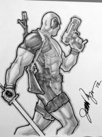 Pitts 2012 Comicon Sketch Deadpool by jamesq