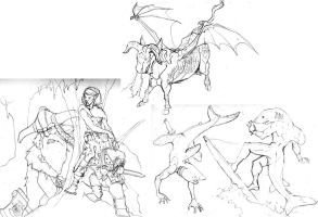 0730 May sketches by Pachycrocuta
