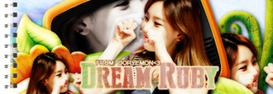 Banner For T.R Dream Ruby by ryeddh20