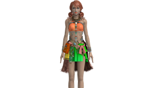 Final Fantasy XIII-2 - Vanille New Outfit by SilverMoonCrystal