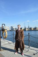 'The Doctor Stands' 10th Doctor (River Thames) by TimeLord1991