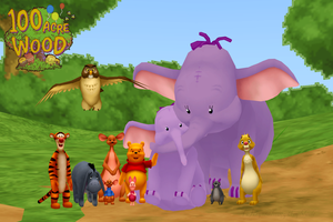 Winnie the Pooh Pack DL by crystalwingskeyblade