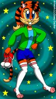 Tiggy Without Shoes by CaseyDecker