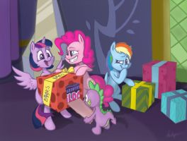 Pie surprie by Cybikum