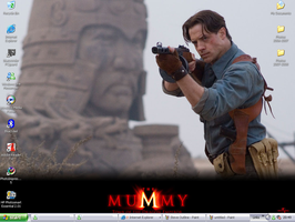 Wallpaper The Mummy by OzzyRingoBrucey