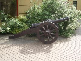 EXTRA STOCK: Cannon by Lsr-stock