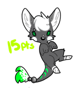 Un-Named Species Adopt  #1 [Owned] by SnapplesAdoptions