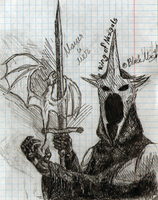 Magic and sword. The First Nazgul by NorthernTale