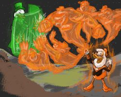 McDuck vs. Gloomgold: Lanterns by hdzcreations