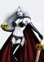 LADY DEATH by brianmiroglio