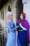 Frozen: Sisters by nyunyucosplay