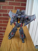 Custom Dark Energon Starscream by daunted