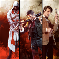 Wallpaper: The Creed, The Booker and The Who by MsterDeth