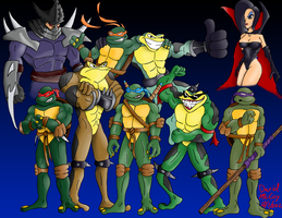 BattleToads and TMNT by 7388