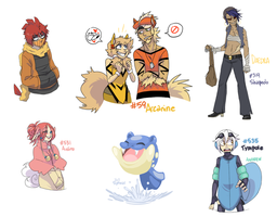 Tumblr Pokemons by roshambxo