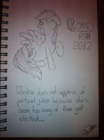 Dashie disagrees with Romney by KingHusky