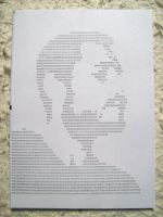 20101106 typewriter drawings portrait by reszko
