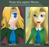 Mary Before and After by LadyBibia