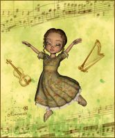 For love to dance and music by mininessie66