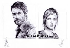 The Last of Us Joel and Ellie by ppleong