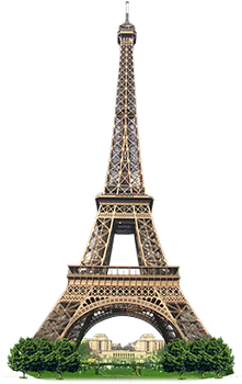 Eiffel Tower PNG by Elyysee