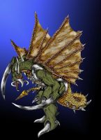 Gigan Unleashed by Scotwith1T