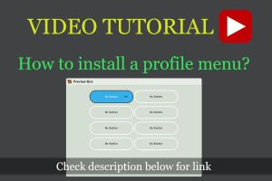 How to install Profile Menu by CypherVisor